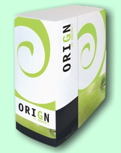 Box of the software for sales by phone, Grupo 77's OriGn