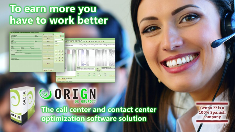 The professional software solution for call and contact management